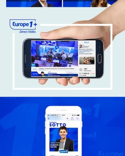 Rentrée de la radio 2015 Europe 1