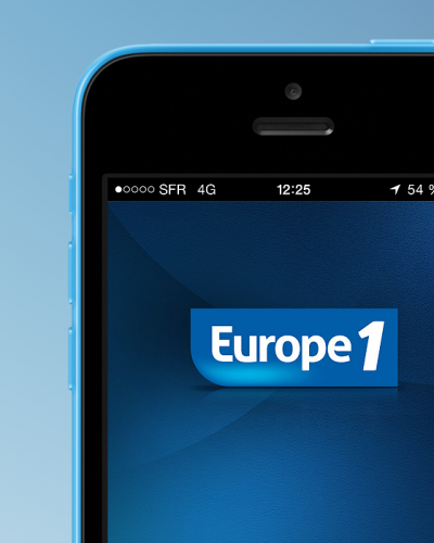 Application iPhone Europe 1