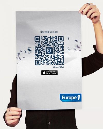 Application iPad Europe 1